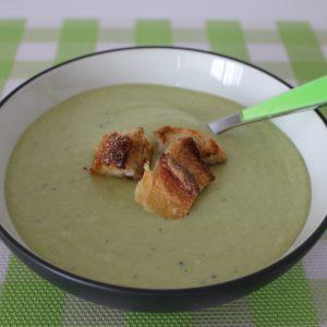 Cucumber & Avocado Soup