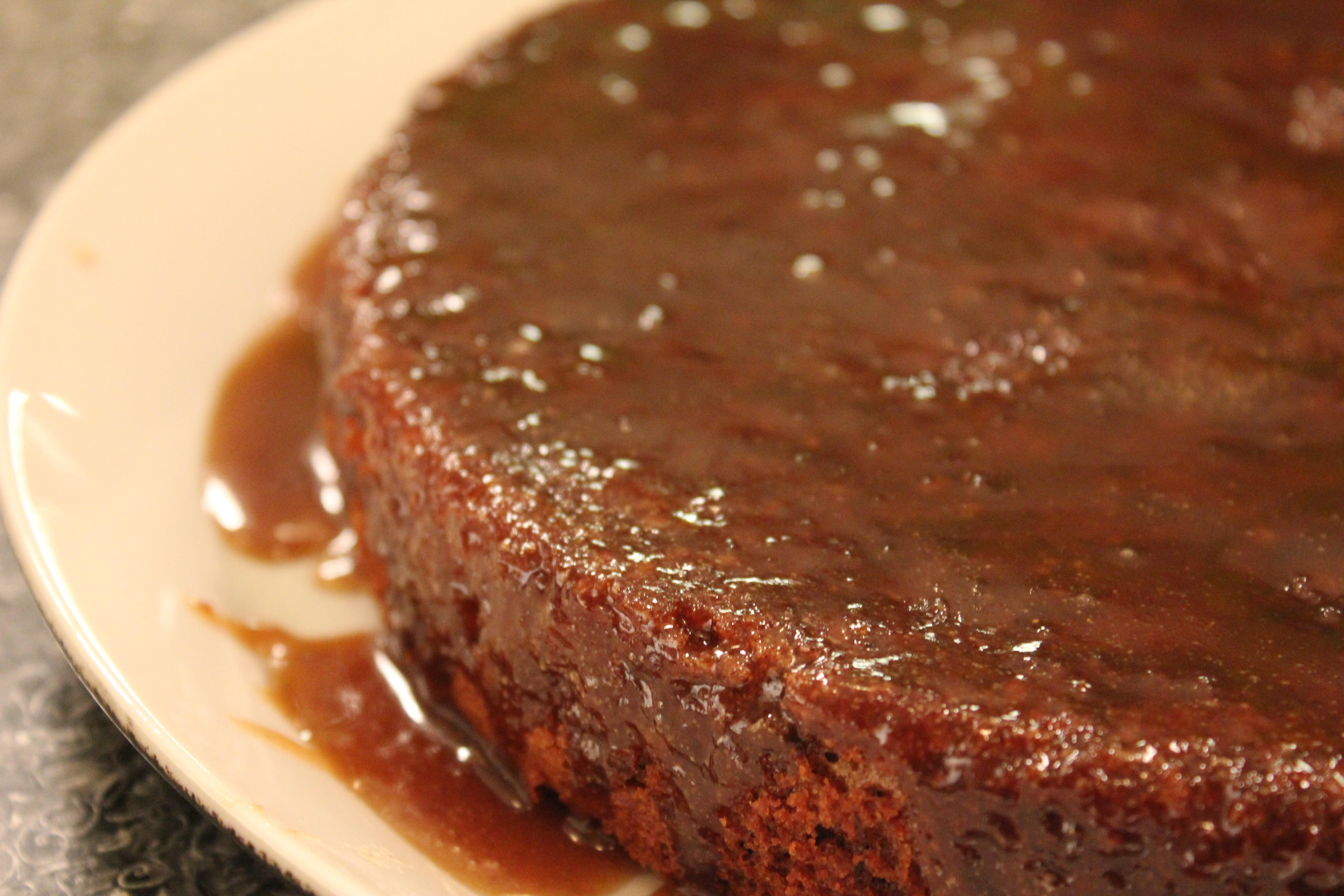 Date Cake Toffee Sauce