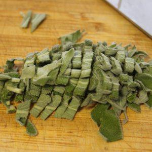 chopped sage
