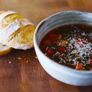 Ribollita (One Pot Tuscan White Bean Soup)