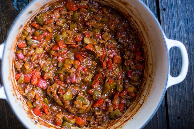 Jambalaya with Chicken and Sausage