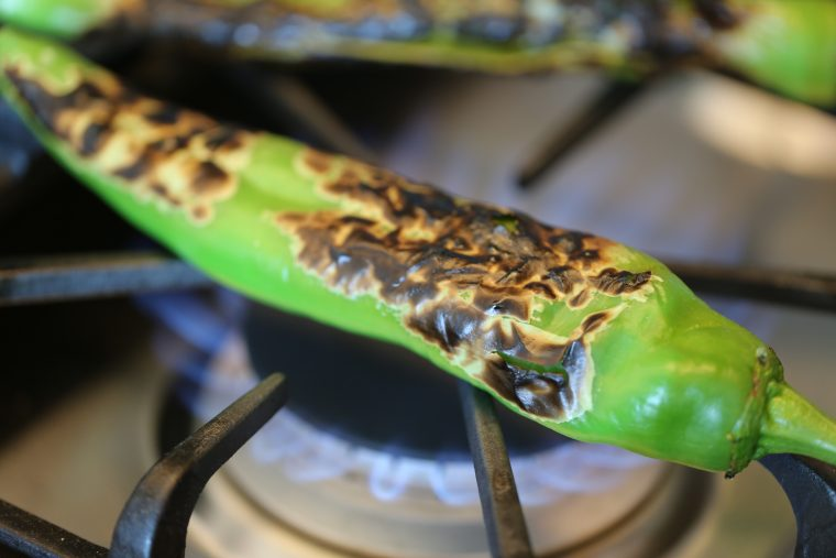 charred chili
