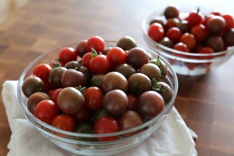 Basil Green Goddess Dressing & Slow Roasted Tomatoes