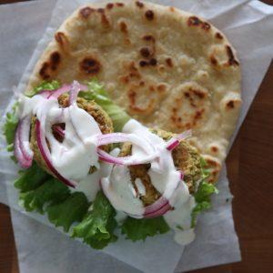 Falafel with Tahini Yogurt