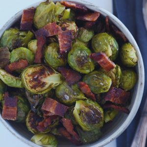 Bacon – Roasted Brussels Sprouts