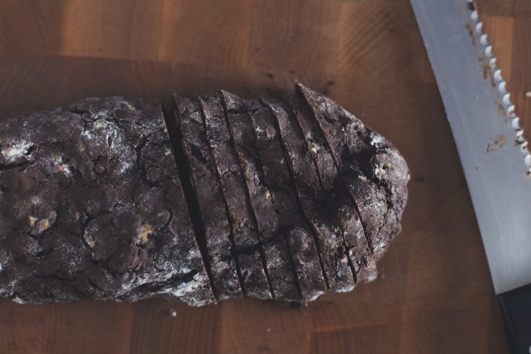 Dark Chocolate & Walnut Biscotti Recipe