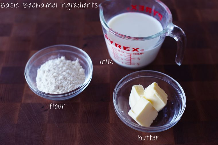 bechamel ingredients