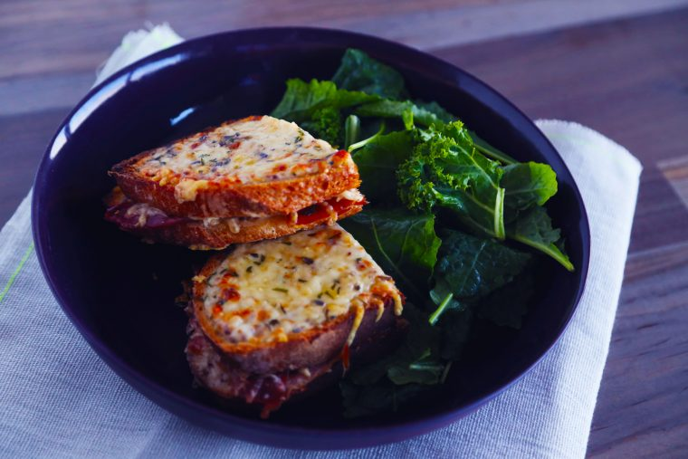 croque monsieur ready to eat