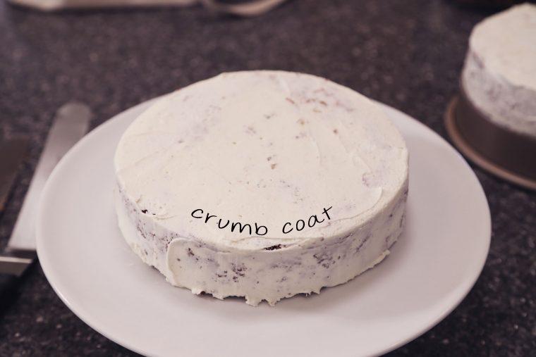 crumb coat