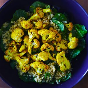 Curried Cauliflower & Quinoa Salad