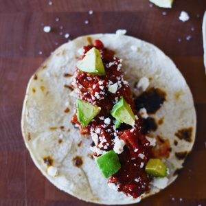 Slow Cooked Chipotle Pork Tacos
