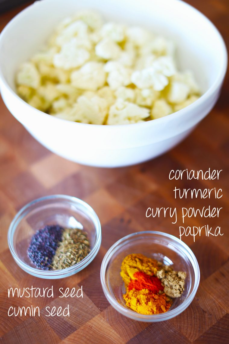 curried cauliflower spice blend