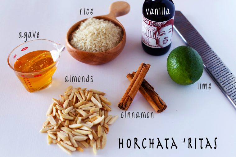 Horchata Rita Ingredients