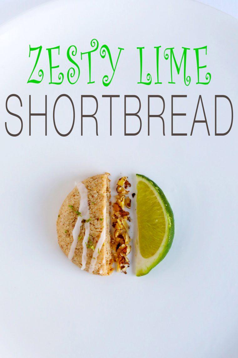 Zesty Lime ShortBread
