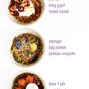 Farro Grain Bowls for Any Meal