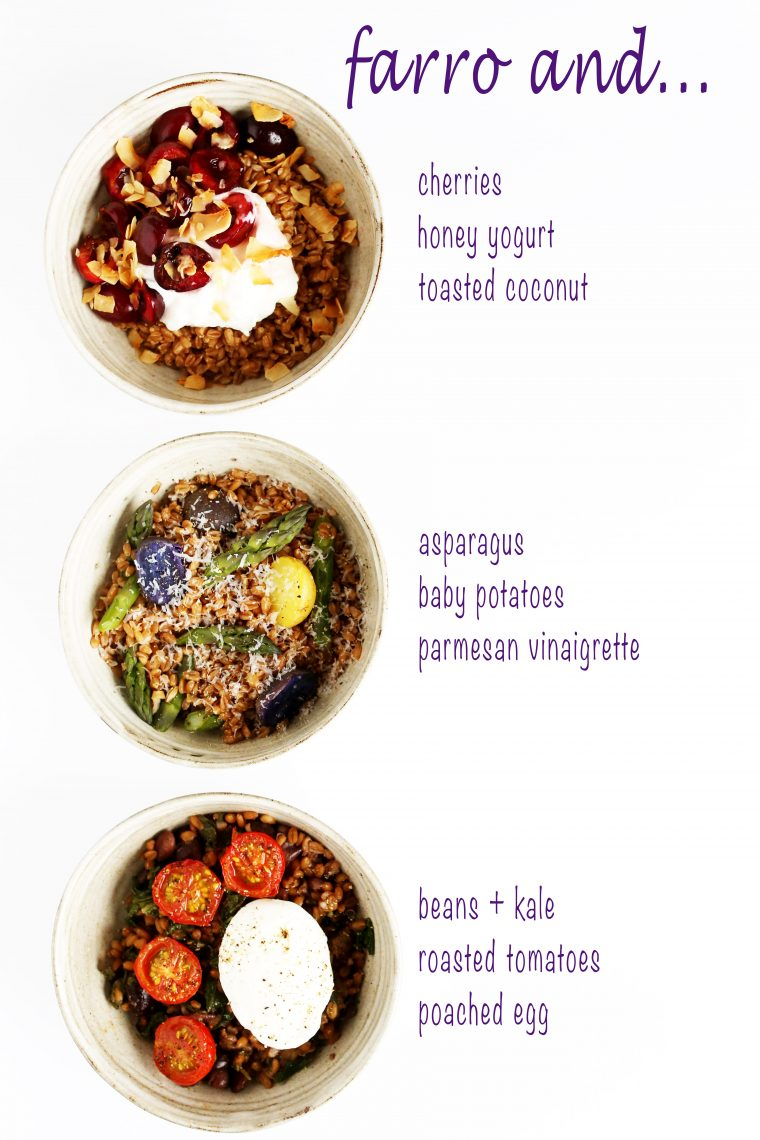 Farro Grain Bowls for Every Meal