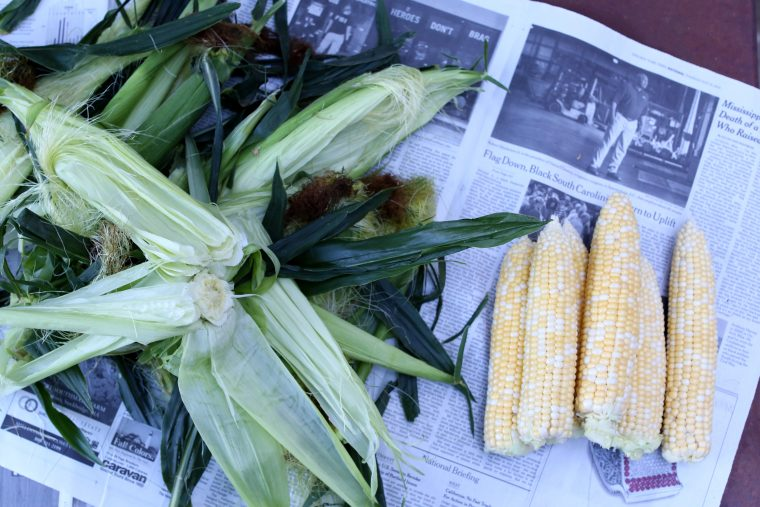 Corn & Tomato Panzanella Recipe