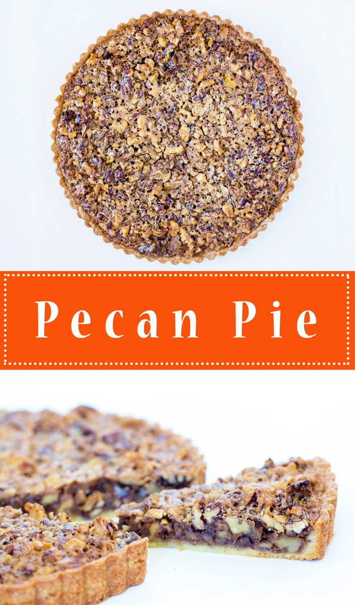 Pecan Pie - new and improved! (hint: no corn syrup!!)