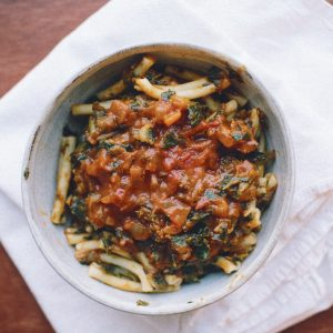 Winter Squash & Kale Ragù