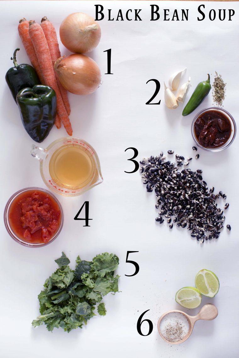 Black Bean Soup in 6 Simple Steps