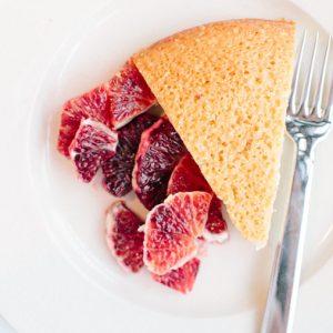 Toasted Meringue Almond Cake