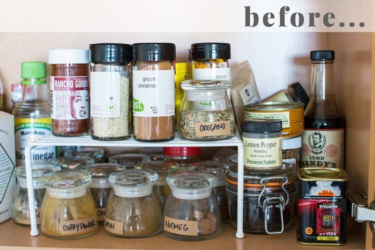 Kitchen Guides - Organizing Your Spice Cabinet