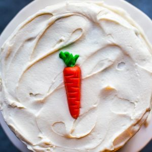 Carrot Cake w/ Cream Cheese Frosting