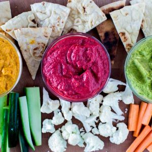 Hummus Recipe with 3 Variations