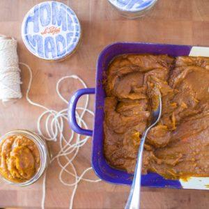 Creamy Spiced Pumpkin Butter