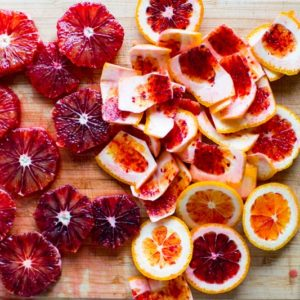 Winter Citrus Salad with Toasted Za'atar Breadcrumbs
