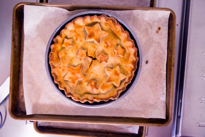Great British Bake Off Raised Game Meat Pie