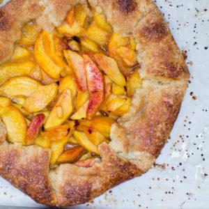 Summer Peach Galette