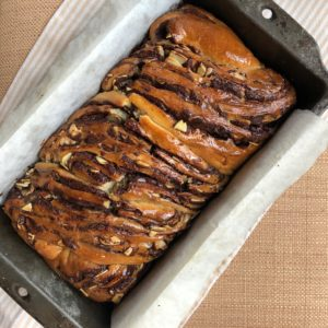 Dark Chocolate Toasted Almond Babka
