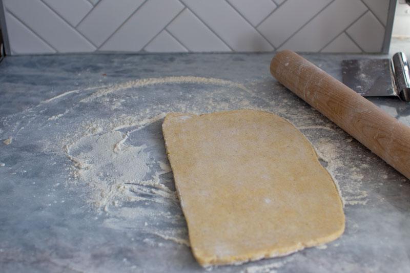 Caramelized Onion Butternut Squash Tart